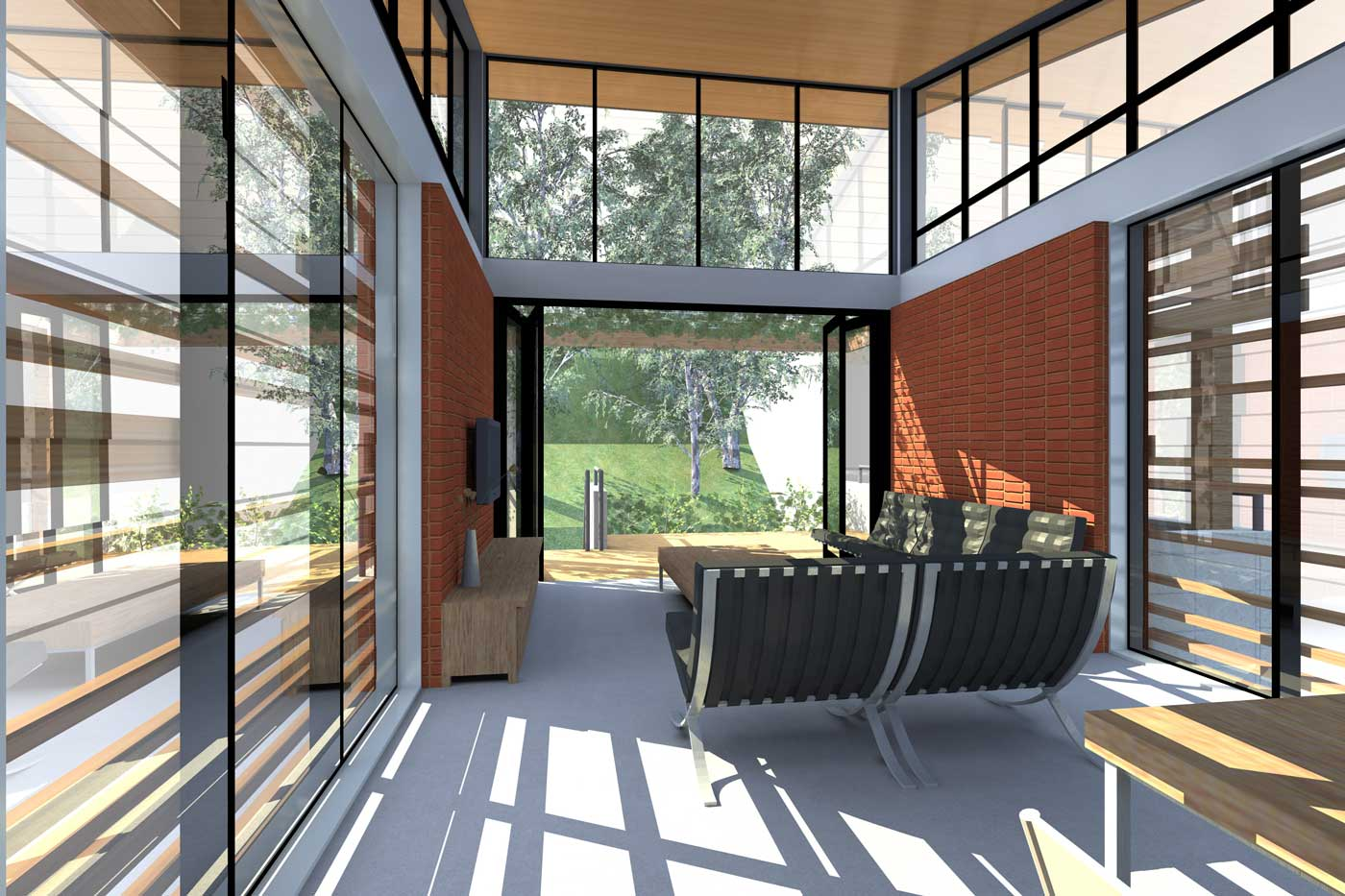 qoh-architects_gull-wing-house_4-web Gull Wing Roof House Plans on aluminium roof, lean to roof, half hip roof, victorian roof, steel roof, pavilion roof, bird wing roof,